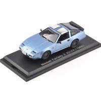 Nissan Norev Fairlady Z 300ZR(1986) Car Model 1/43 Blue Diecast Vehicle Hot Toy