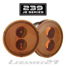 Set JW Speaker 239 j2 Wrangler JK DEL Front Clignotant jaune amber E-Testé NEUF