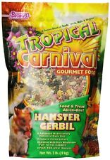 Tropical Carnival F.M. Brown's Gourmet Hamster Gerbil Food Free Shipping