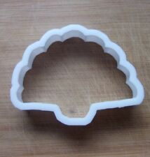 Peacock Shape Cookie Cutter Biscuit Pastry Fondant Stencil Silhouette AL40