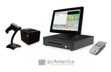 Retail Point of Sale System -Cash Register Express Monthly Pos w/ Payment Pinpad