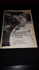 The Four Minute Mile Michael York Rare Original Promo Poster Ad Framed!