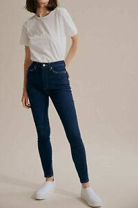 New COUNTRY ROAD High Rise Skinny Jean in Indigo Pop SIze 4 Suit 6 8 BNWT $119