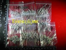 200pcs 10value 910ohm ~1M 1W(1Watt) 1watts Carbon Film Resistor Assortment Kit #