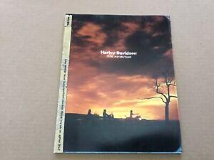 Harley Davidson 1998 95th Anniversary Motorcycles Catalog