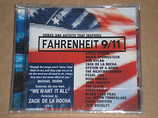 SONGS THAT INSPIRED FAHRENHEIT 9/11 (PEARL JAM, BOB DYLAN)-CD SIGILLATO (SEALED)