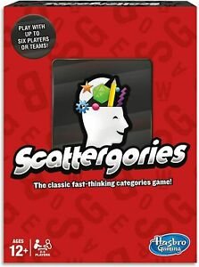 Scattergories Word Game, Board Game, Party Game NEW - FREE POST