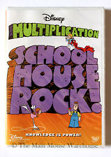 Schoolhouse Rock! MULTIPLICATION Songs Disney Musical Math Child Education DVD