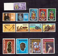RHODESIA page of 1960s semi-postal commems MUH