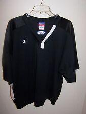 Champion Mens Authentic Jersey XL Black Short Sleeve NWOT