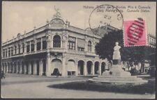 POS-931 ANTILLES POSTCARD 1927 HAVANA DIARIO DE LA MARINA FELICIDAD RARE POSTMAR