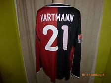 Hertha bsc berlín nike manga larga matchworn camiseta 2003/04 + nº 21 Hartmann talla XL