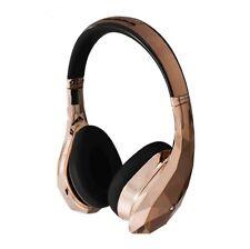 Monster DiamondZ sealed on ear headphones Rose Gold MH DMZ ON RGLD CU New F/S