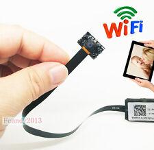 Wireless 1080P HD 940NM Night vision mini spy hidden IP WIFI micro nanny camera