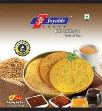 Joyable Khakhra Wheat Crisps (Tometo) 200 Gram Pack of 6 Free Shipping