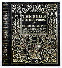 EASTON PRESS THE BELLS AND OTHER POEMS EDGAR ALLAN POE EDMUND DULAC FAMOUS EDIT