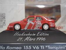 "Herpa 036740 - Alfa Romeo 155 V6 ""ITC `96 Hockenheim Edition/ Tarquini #18"" 1:87"