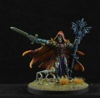 Painted Malek, Necromancer from Reaper Miniatures, D&D Character male 28mm
