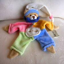 Doudou Lutin Ours Babynat Baby Nat' - Bonnet Blanc