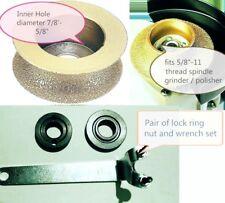 """3/4"""" 1 1/4"""" 1 1/2"""" Full bullnose Diamond Router Bit Granite Marble Glass grinder"""