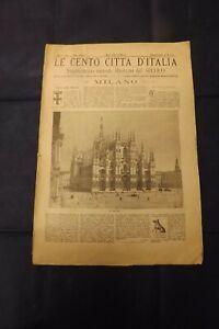 LE CENTO CITTA' D'ITALIA MILANO 1887