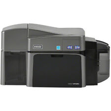Fargo 50130 DTC1250e Dual-Sided Card Printer + Magnetic Encoding & Ethernet NEW!
