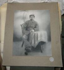 Monochrom Porträts Fotokunst mit CDV-Fototyp