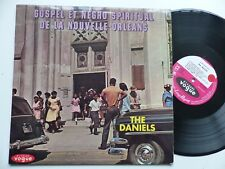 Gospel negro spiritual Nouvelle Orleans THE DANIELS  INT 40003 Photo voiture RRT