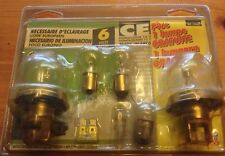For Citroen 2CV and Others - 1970 to 1990.  Spare Bulb Set  (New)