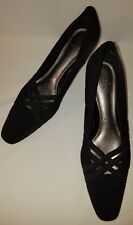 7M LIFESTRIDE Shoes High Heel Pumps Womens Black Career Formal Office Strappy