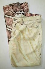 FRANKIE B Size 32 NEW 'Perfect Fit' Distressed Jegging Jeans In Boa Sand $238