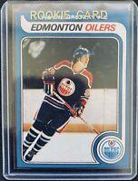 Wayne Gretzky Rookie Card RC O-Pee-Chee - Reprint