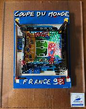 Nathalie Le Gall sculpture d'après affiche Football Coupe du Monde France 1998