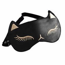 Cute Cat Sleeping Eye Mask Women Cold Pack Cool Compress Blindfold Eyeshade