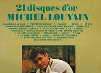 MFD IN CANADA FRENCH QUEBEC POP 1974 MICHEL LOUVAIN : 21 DISQUES D'OR
