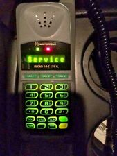 Vintage Motorola Micro TAC Lite XL 1996 Olympic Mobile Phone, Case & Chargers