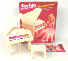 Barbie Electronic Piano 5085 by Mattel 1981 Near Complete Good Working Condition