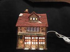 Dicken's Village/Dept 56 Crown Tree Inn Vintage Lighted No Box