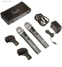 Galaxy Audio Any Spot Wireless Microphone Systems Dual Channel ECDRHH38
