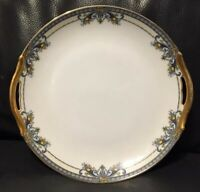 VINTAGE Noritake Winona Serving Cake Dish With Handles Gold Gilt Made In JAPAN