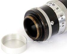 Aluminium Rear Lens Cap 25mm for C-Mount Lenses Zeiss TRIOPLAN for 16mm TV BOLEX