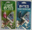 Tzumi Cord Bytes Cable Protectors  *Prevents Wear & Tear Lot Of 2  A21