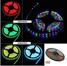 3528 SMD LED Strip Lights 5M 60 LED/m RGB Yellow White Red Green Blue UK Seller