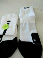 Nike Men Elite Cushioned Basketball Mid Socks Large Fit 8-12 Shoes SX5594-100