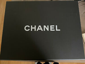 """Chanel Authentic Magnetic Storage Gift Box18"""" x 14"""" x 8"""" Flower,Ribbon And Bag"""