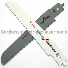 Bosch M1142H + M3456XF PFZ 500 E Multisaw Saw Blades for WOOD & WOOD with METAL