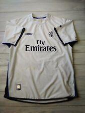 Chelsea training jersey medium shirt Umbro men's football soccer white