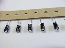 50 Stück - ELKO 3,3µF 50V - ±10% 85°C 4x7mm radial Nippon Chemi-Con 3,3uF 50x