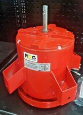 """RCG 600watt 3speed 240Volt 1/2"""" shaft Lug Mount Fan Electric Motor 809454PVB-A16"""