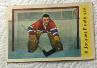1959-60 PARKHURST #41 JACQUES PLANTE~EX++**NO CREASES**NO WRINKLES** MUST SEE